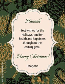 Printable card. Best wishes