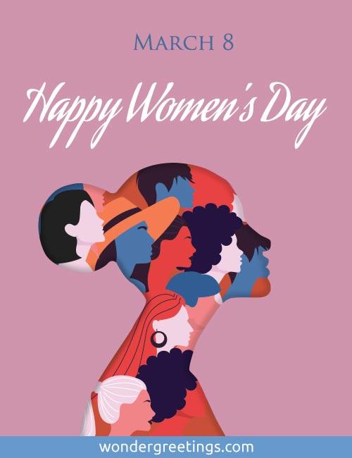 March 8 - Happy Women's Day