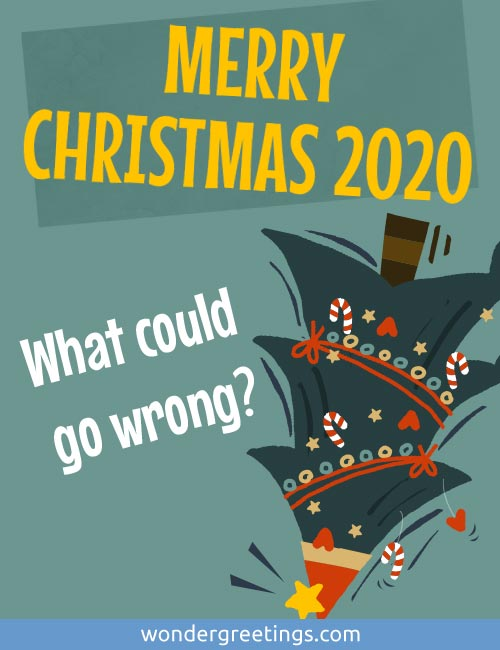 MERRY CHRISTMAS 2020 -<BR>What could go wrong?