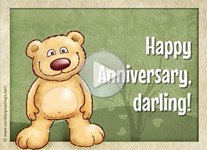 Anniversary ecard. You are in my heart