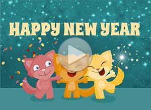 Imagen de New year para compartir gratis. For my friends