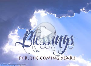 Imagen de New year para compartir gratis. May the Lord light your way