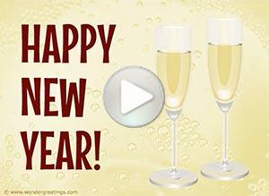 Imagen de New year para compartir gratis. Let's make a toast