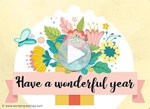 Imagen de New year para compartir gratis. The gift of the Present