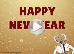 Imagen de New year para compartir gratis. New Year exercise