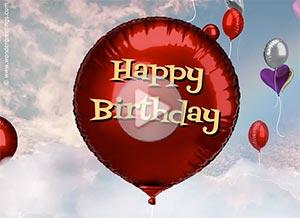 Birthday ecard. Enjoy this special day