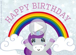 Birthday ecard. Have a magical day!