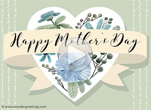 Imagen de Mother's day para compartir gratis. For an exceptional mom