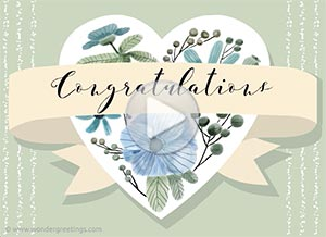 Congratulations ecard. For someone special