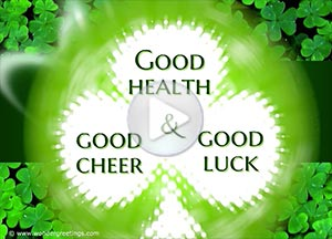 Imagen de Saint Patrick's day para compartir gratis. Three wishes
