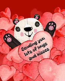 Sending you lots of hugs and kisses
