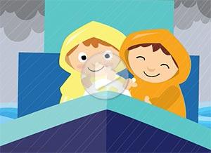 Imagen de Friendship para compartir gratis. Going through the storm together