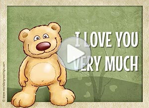 Love ecard. You are in my heart