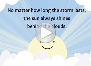 Imagen de Encouragement para compartir gratis. No matter how long the storm...