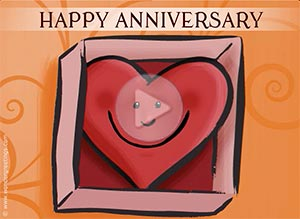 Imagen de Anniversary para compartir gratis. I send you my heart
