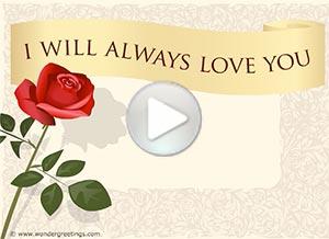 Imagen de Anniversary para compartir gratis. I will always love you