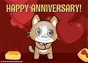 Imagen de Anniversary para compartir gratis. Sending you this little gift