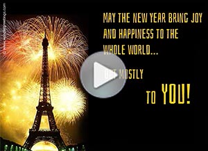 Imagen de New year para compartir gratis. Joy to the whole world