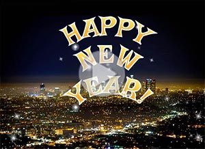 Imagen de New year para compartir gratis. May this be a wonderful year