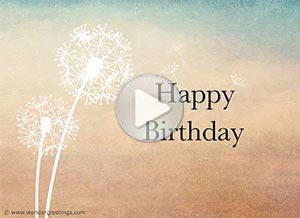 Birthday ecard. You are always in my heart
