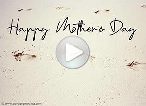 Imagen de Mother's day para compartir gratis. You will teach them to fly...