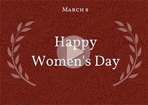Imagen de Women's day para compartir gratis. Eternal gratitude