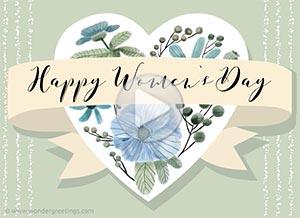 Imagen de Women's day para compartir gratis. To an exceptional woman