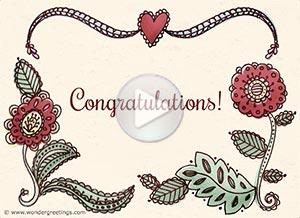 Imagen de Congratulations para compartir gratis. Love and joy