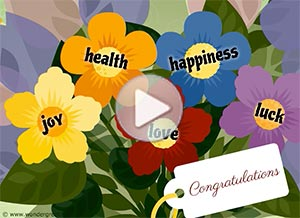 Imagen de Congratulations para compartir gratis. A bouquet of good wishes