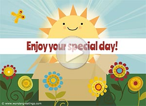 Imagen de Congratulations para compartir gratis. Enjoy your special day!