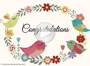 Imagen de Congratulations para compartir gratis. Lots of love on this special day