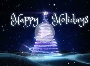 Imagen de Christmas para compartir gratis. Happy Holidays