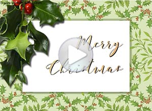 Christmas ecard. Blessings