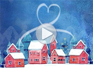 Imagen de Christmas para compartir gratis. Together in our hearts
