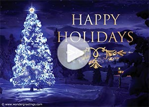 Imagen de New year para compartir gratis. Happy Holidays