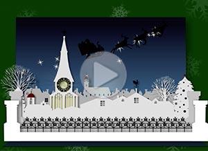 Imagen de Christmas para compartir gratis. Magical Christmas