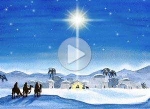 Christmas ecard. Merry Christmas