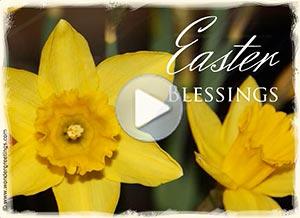 Imagen de Easter para compartir gratis. Easter blessings