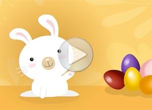 Imagen de Easter para compartir gratis. Happy Easter and much more!