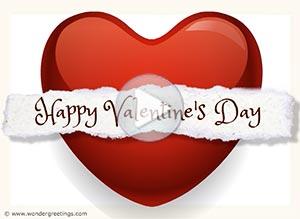 Imagen de Valentine's day para compartir gratis. I send my heart to you
